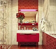 时尚清秀温馨的卫浴间设计