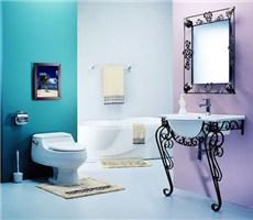 多彩卫浴间装饰设计