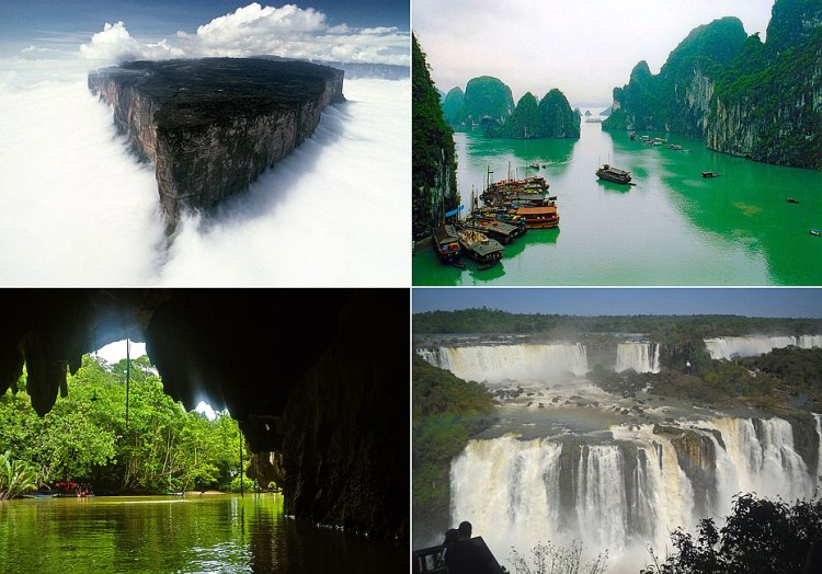 世界新七大自然奇观
