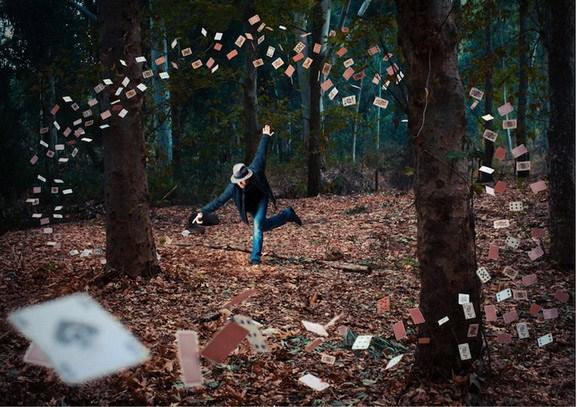 奇幻的梦境魔幻的摄影手法