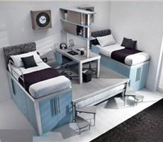 小空间大智慧15平方一室一厅一柜