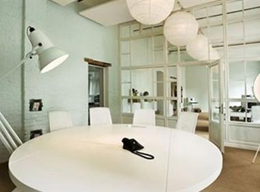 现代时尚的Parasol Island办公室