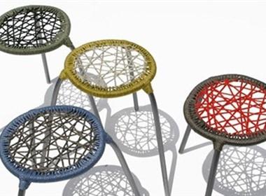 编织的椅子,很雅很时尚