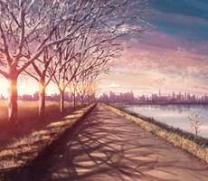 寒冬增加一点暖意的唯美场景设计