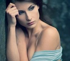 震撼视觉的美丽人物肖像摄影