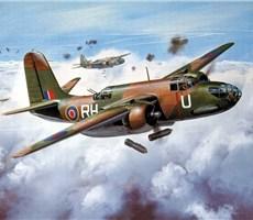 震撼视觉的二次世界大战飞机手绘彩图