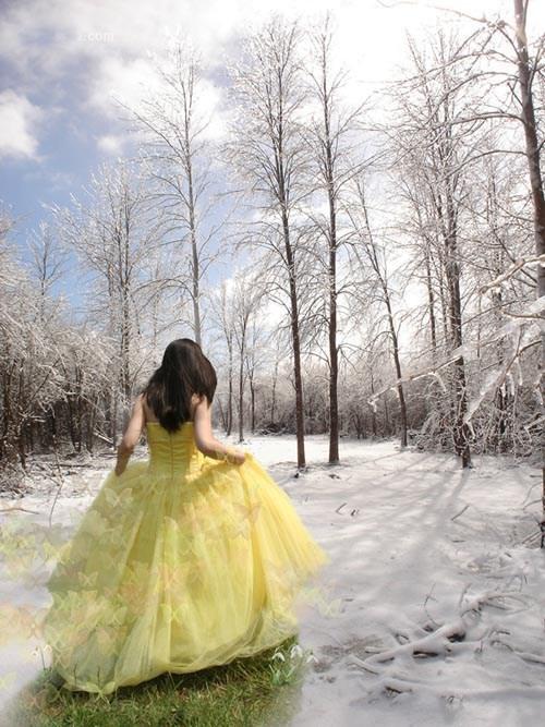 以春天为主题的照片合成作品欣赏
