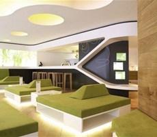 时尚生态德国汉堡餐厅设计欣赏
