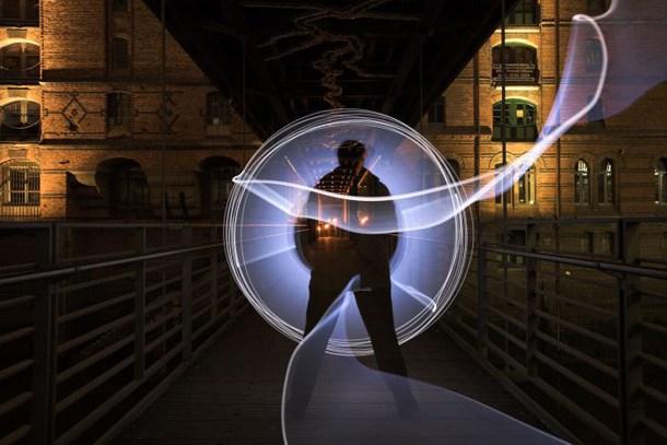 震撼视觉的灯光创意艺术