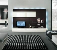 非常火的国外现代电视墙设计欣赏