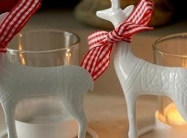 2011圣诞狂欢烛台摆设