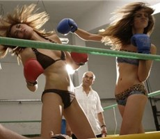 美女拳击 美与暴力的结合