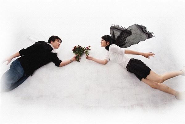 脱离现实的不一样婚纱摄影欣赏