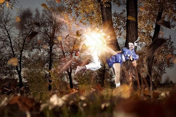 设计与Cosplay的融合很有意思的摄影作品