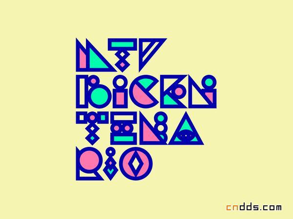 字体编排设计_pablo alfieri作品_海报设计