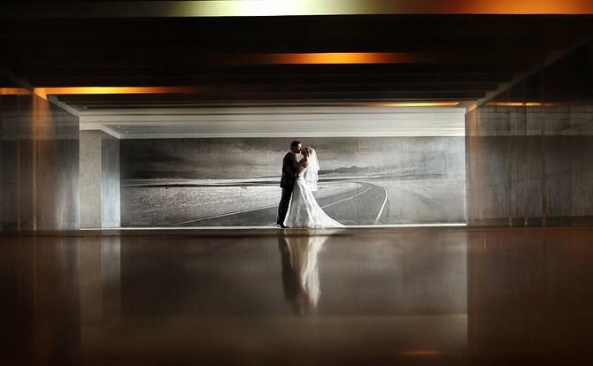 俄罗斯现代婚纱照设计欣赏