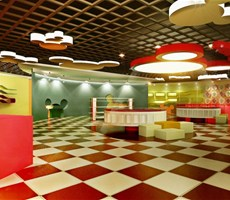 五彩斑斓的disney展厅设计欣赏