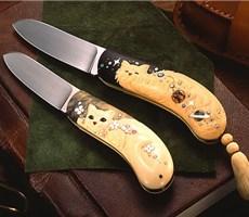 女刀匠平山晴美设计的无比可爱的刀