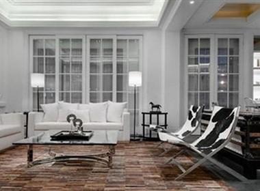 纯白空间欧式样板房欣赏