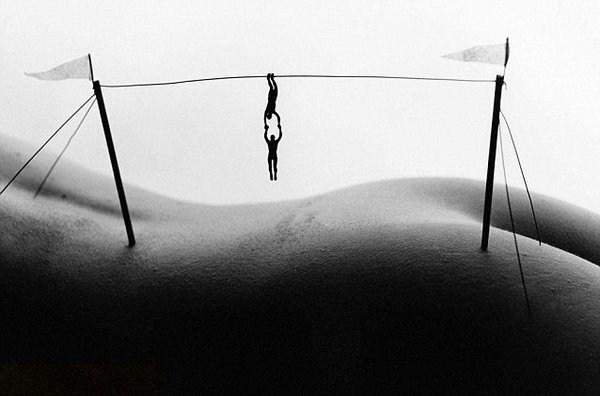 Allan Teger:微型人体景观摄影