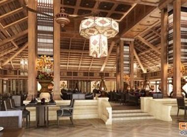 迷人的云南西双版纳皇冠假日度假酒店