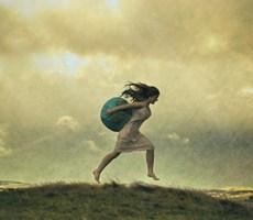 爱丽丝的黑暗童话唯美摄影作品《二》