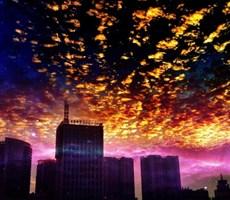 世界上会有这个完美的天空吗?