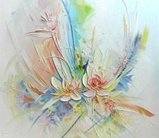 安德烈耶娃作品之一(浅浮雕似的油画)