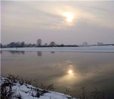 冬天里的景色