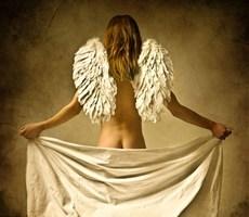 若隐若现的性感摄影之天使爱美丽