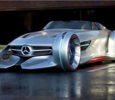 炫酷上市的梅赛德斯-奔驰银箭概念车