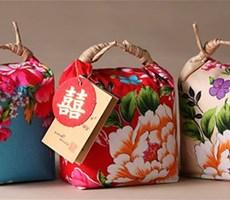 相当喜庆的台湾大米包装设计