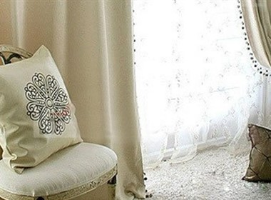 个性家居窗帘,给家穿上美丽的外衣