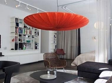 半开放式的国外公寓设计欣赏