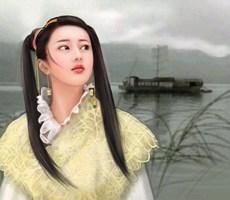 似曾相识唯美的中国女性插画作品