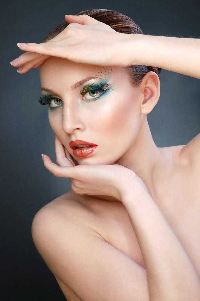 国外Irina Jensen 的时尚创意彩妆设计