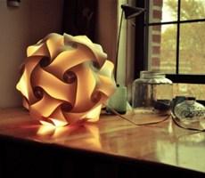 独一无二有自己风格的立体构成类型的灯具设计