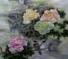 精细花鸟工笔画-3.27