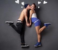 简约的爱情故事创意摄影作品你喜欢吗?