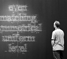 Liz Collini 的黑板字的创意设计