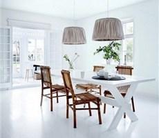 丹麦极致白色美宅震爆视觉的精美设计