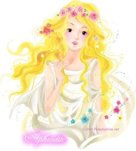 pinkbubble美丽可爱插画作品