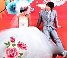 韩风美纱 给你女神范的婚礼