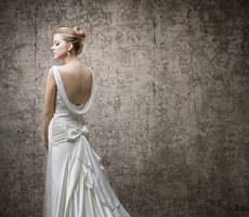 四款很清新淡雅的婚纱