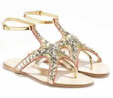 Miu Miu推出2012春夏凉鞋,海洋元素闪闪惹人爱