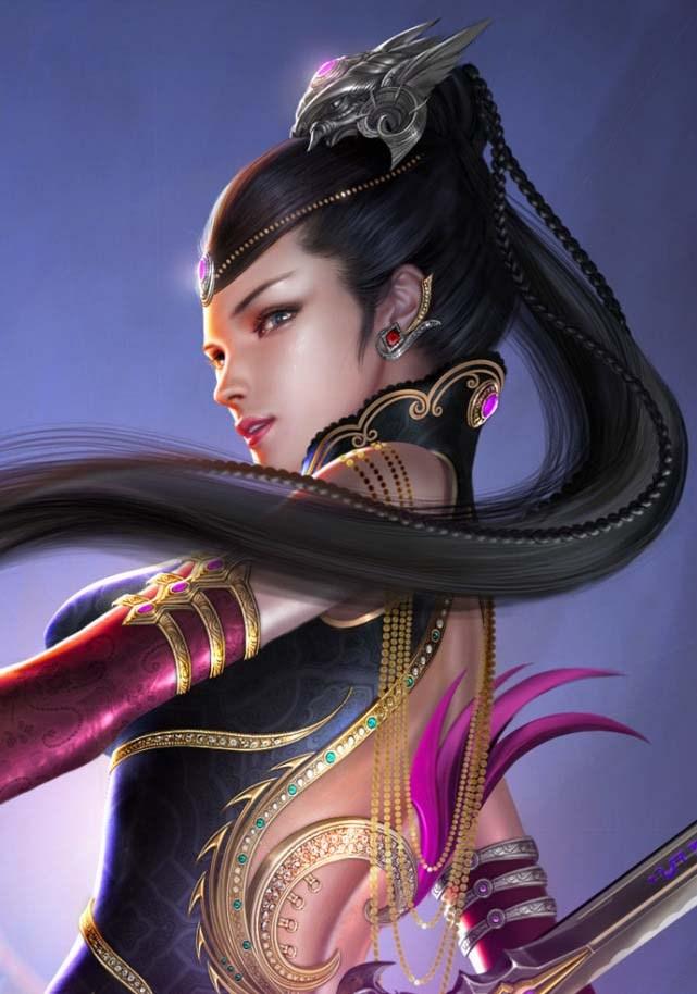 性感重口味女性游戏角色设计欣赏