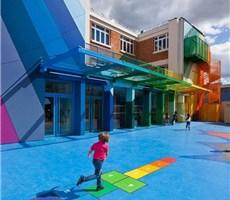 五彩斑斓的巴黎幼儿园设计欣赏