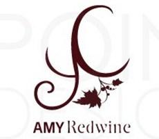 AMY redwine logo设计