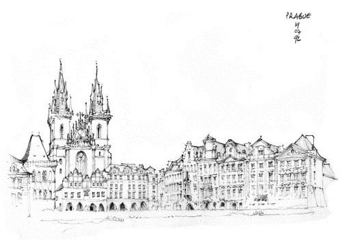 国外建筑师海量手绘