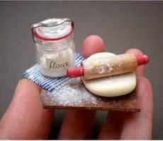 德国的20岁粘土达人Veselina Koleva的微缩模型作品